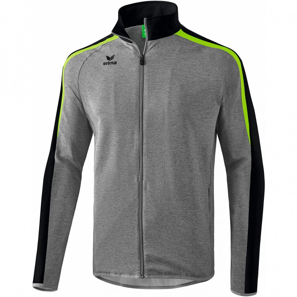 Erima Liga 2.0 Presentation Jacket grey melange/green