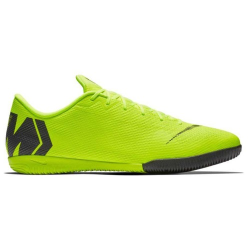 Nike Indoor Soccer Shoes Vapo 12 Academy IC neonyellow