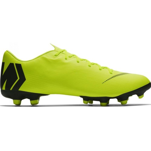 Nike soccer shoes Vapor 12 Academy FG/MG neonyellow