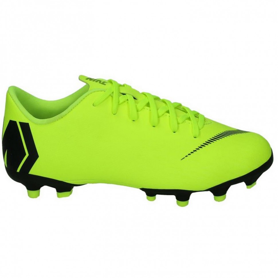 Nike Soccer shoes Mercurial Vapor XII Academy MG Kids neonyellow