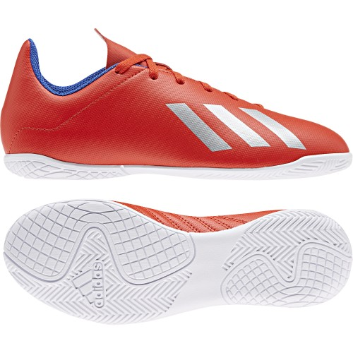 Adidas Hallen-Fussballschuhe X 18.4 IN Kinder